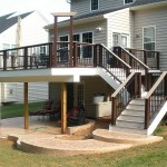 Custom Built Decks and Porches by Big Rock Construction Bristow Virginia