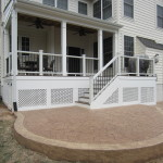 Bristow Covered Porch and Patio